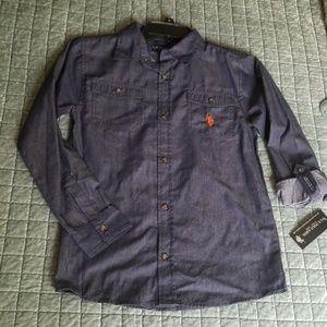 U.S.POLO ASSN button down shirt